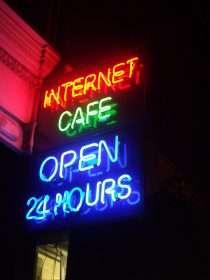 24 Hours Internet Cafe