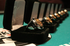 A total of 264 gold rings will be won during the 2013-14 WSOP Circuit