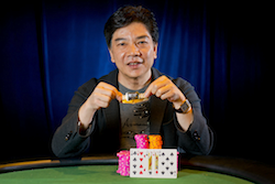 David Chiu became only the 22nd player in WSOP history to win five or more bracelets last night (Photo: WSOP/Joe Giron)