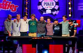November Nine 2013 WSOP Main Event
