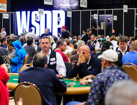 Day 1b of the 2013 WSOP Main Event (Photo: WSOP)