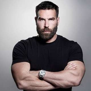 Dan Bilzerian's hokey IMDb photo.