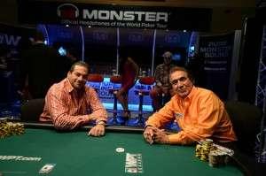 James Calderaro (L) and Nabil Hirezi (R)