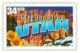 Utah Stamp