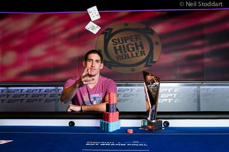EPT Grand Final SHR Champion Dan Colman