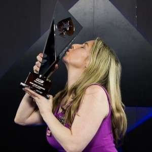 Vicky Coren-Mitchell Winning her 2nd PokerStars EPT Title