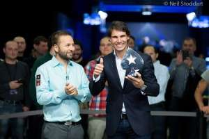 Rafa Nadal (R) Wins Charity Event