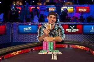 Ryan Eriquezzo Image from Joe Giron/WSOP.com