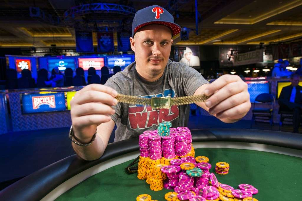2014 WSOP Event #13 Winner, Paul Volpe