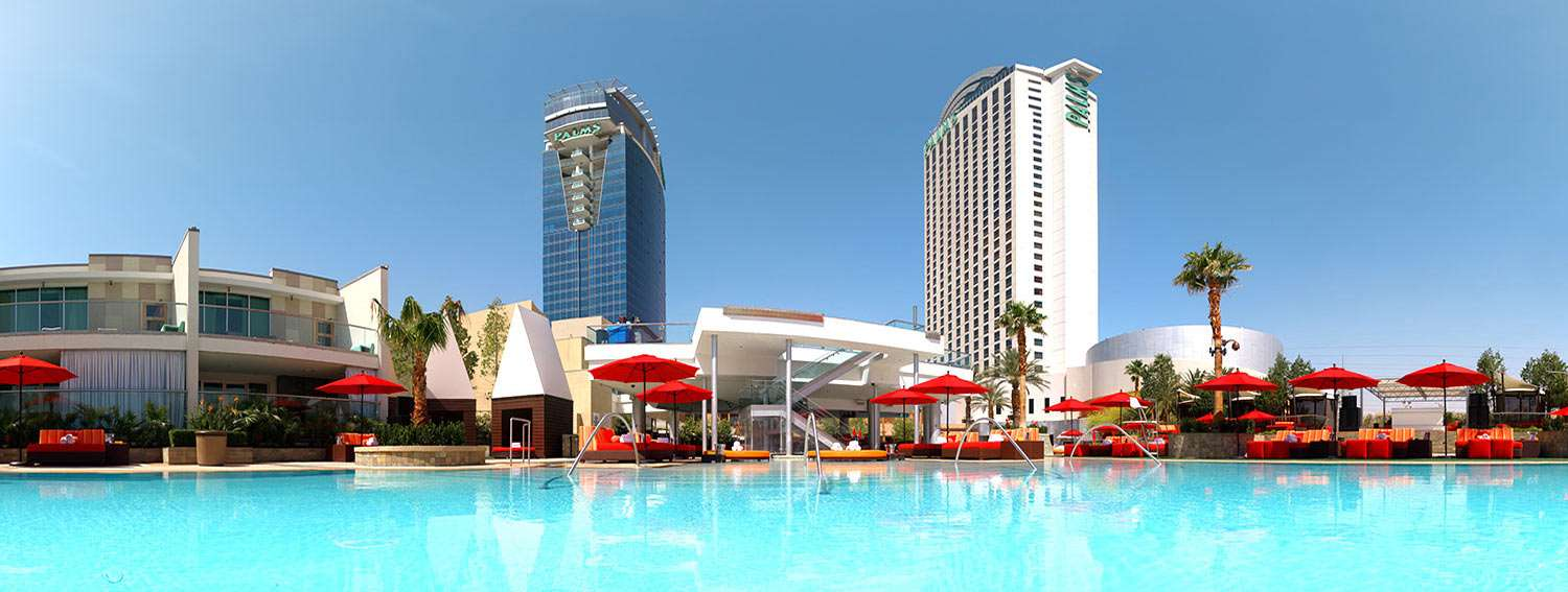 palms casino resort pool