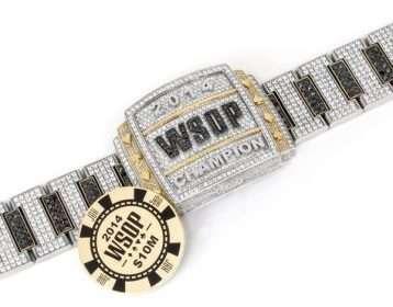 2014 WSOP Bracelet