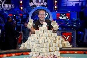 2012 WSOP Main Event Champion Greg Merson Image Credit: WSOP.com