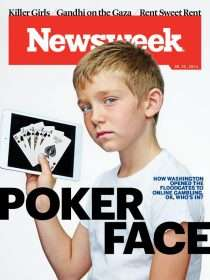 Newsweek Poker Face Cover