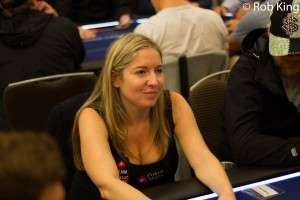 Victoria Coren-Mitchell at the recent PokerStars London EPT