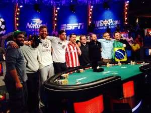 The 2014 WSOP November Nine
