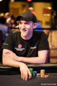 Jason Somerville at the tables