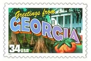 Georgia Stamp