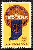 Indiana Stamp