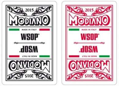 Modiano WSOP Cards