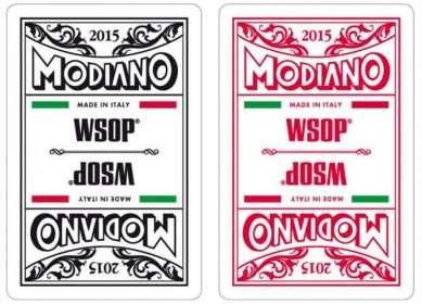 Modiano WSOP Cards