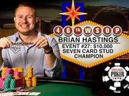 Brian Hastings win in $10K