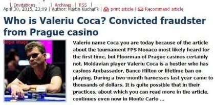 Valeriu Coca Story