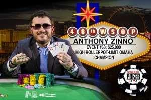 Anthony Zinno Image Credit: Melissa Haereiti/www.pokerphotoarchive.com