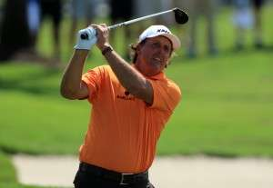 Phil Mickelson Image credit: David Cannon/Getty Images