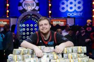 Joe McKeehen - 2015 WSOP Main Event Champ Image credit: WSOP.com