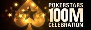 PokerStars 100 Millionth Celebration