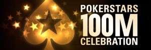 PokerStars 100 Millionth Celebration