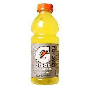 Don't drink that. It's not Gatorade.