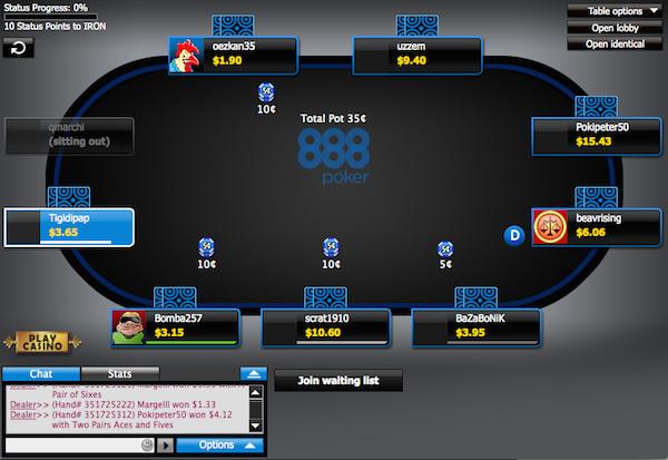 888 Poker Geld Verdienen