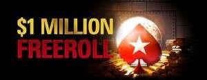 PokerStars $1 Million Freeroll
