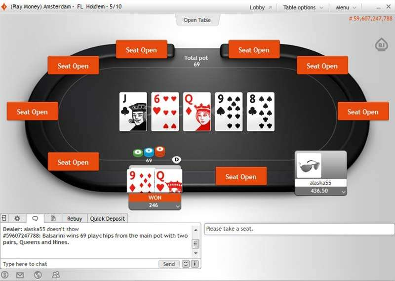 Party Poker Deposit Options