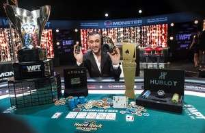 Farid Yachou - Winner of 2016 WPT Tournament of Champions Photo courtesy Joe Giron / WPT.com