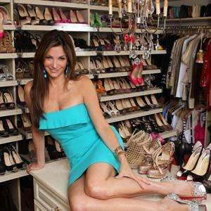 Beth Shak has over 1,200 pairs of shoes Image credit: NY Post / Chad Rachman