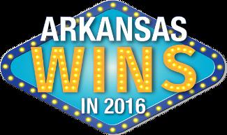 arkansas wins in 2016 logo
