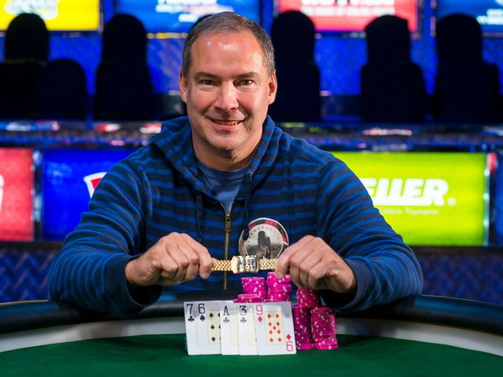 Ted Forrest won his latest WSOP bracelet in 2014.