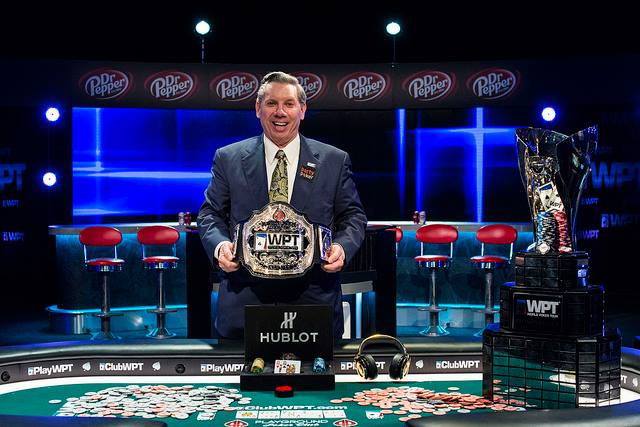 2016 WPT Montreal Champ Mike Sexton Photo credit: WPT via Facebook