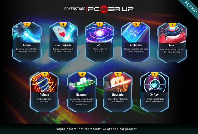 PokerStars Power Up -Cards400
