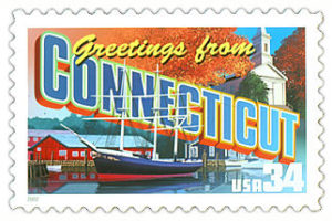 Connecticut Stamp