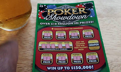 New Jersey Lottery to End Poker Scratch-Off Game