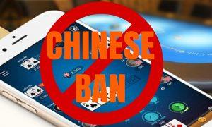 Ban Poker in China