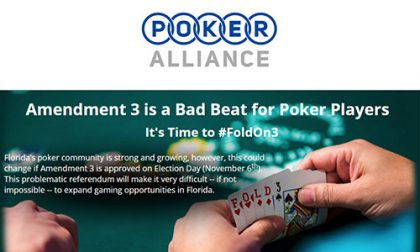 Poker Alliance Anti-Casino Amendment 3