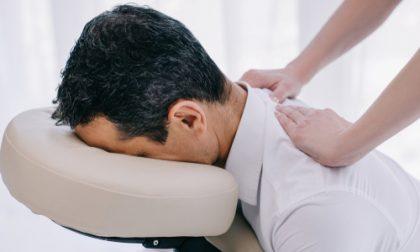 Massage on chair